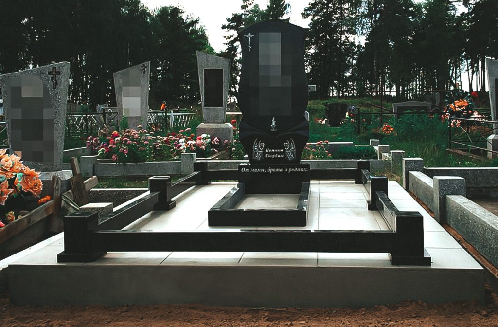 установка памятника