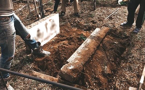 демонтаж надгробия