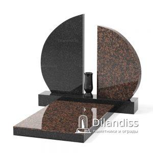 мемориальный комплекс памятник на могилу Аврора с плитой