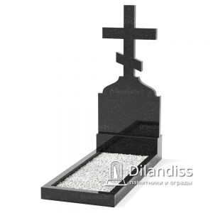 памятник в виде креста из гранита 2 фото