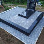 установка памятника на кладбище