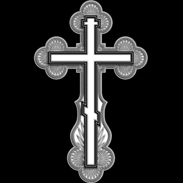 крест на камень загравировать